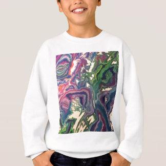 Topographical Tissue Paper Art IV Sweatshirt