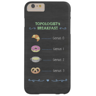 Topologist's breakfast phone case
