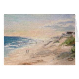 """""""Topsail Beach"""" Card"""