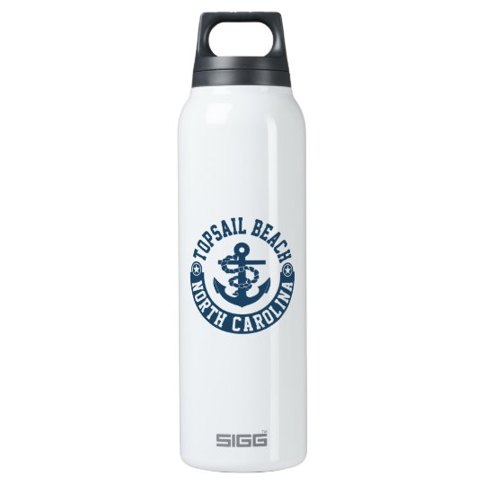 Topsail Beach Insulated Water Bottle