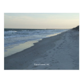 Topsail Island, NC postcard