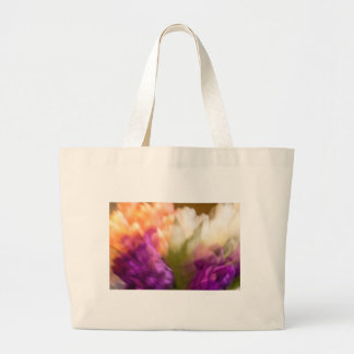 Topsy Turvy Tulips Large Tote Bag