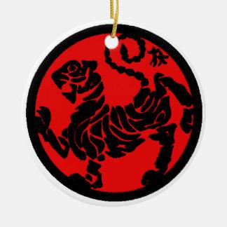 Tora no Maki Round Ceramic Ornament