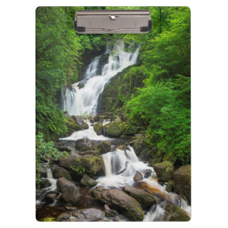 Torc waterfall scenic, Ireland Clipboards