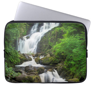 Torc waterfall scenic, Ireland Computer Sleeves