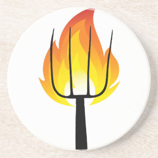 Torch and Pitchfork Coaster