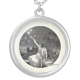 Torch in the Night Sky Pendant