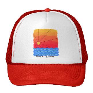 Torch Lake Sunrise Trucker Hat