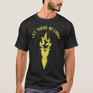 Torch - Let There Be Light Men's T-Shirt. T-Shirt