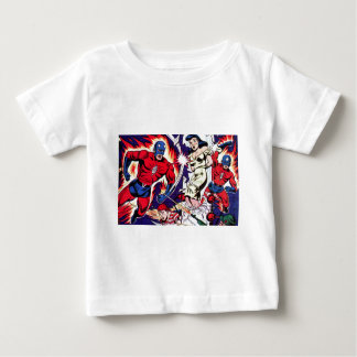 Torch Man and Torch Boy Baby T-Shirt