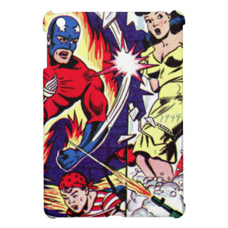 Torch Man and Torch Boy Case For The iPad Mini