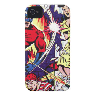 Torch Man and Torch Boy iPhone 4 Covers