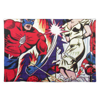 Torch Man and Torch Boy Placemat
