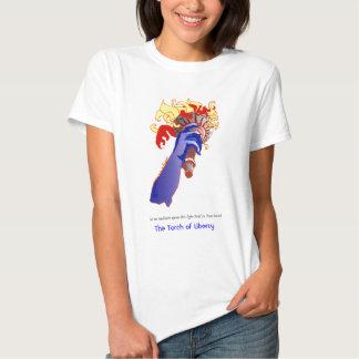 Torche de la liberté/du T-shirt