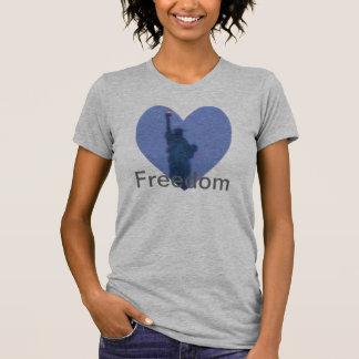 Torche de liberté de Madame Liberty Free Heart Tsh Débardeurs