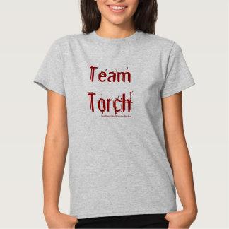 Torche d'équipe tshirts