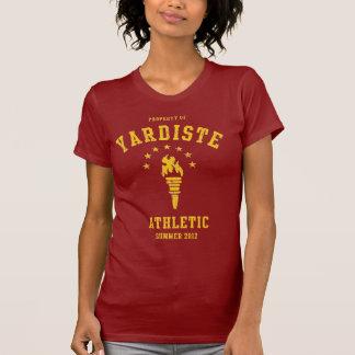 Torche sportive d'or de Yardiste Tshirts