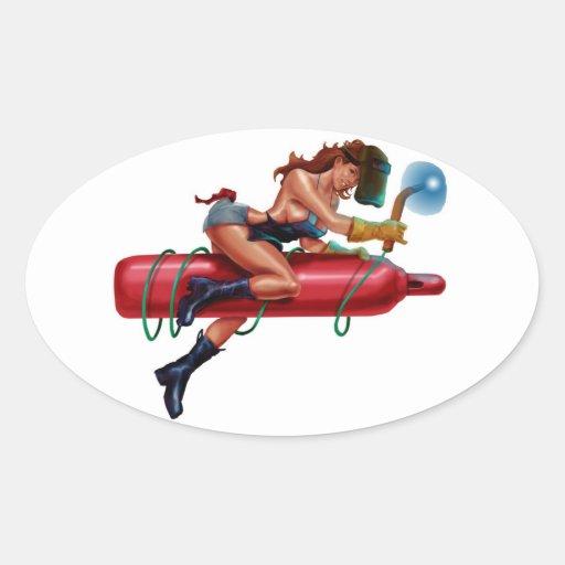 Torchin Sticker
