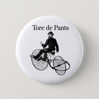 Tore de Pants 2 Inch Round Button