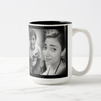 Tori Dana Ryan Christmas Gift Two-Tone Coffee Mug