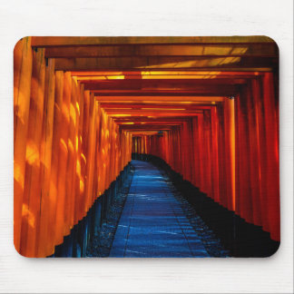 Torii Gate Path Mouse Pad