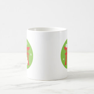 Torii (red and green) mug