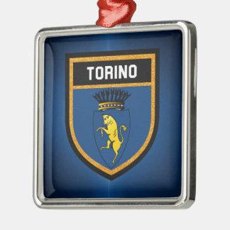 Torino Flag Metal Ornament