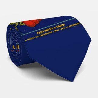 Torino salsa di pomodoro aka tomato paste print tie
