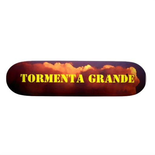 Tormenta Grande' - Custom Skate Boards