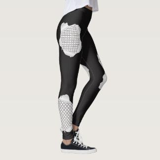 Torn 101 Pattern Leggings