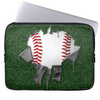Torn Baseball Laptop Sleeve