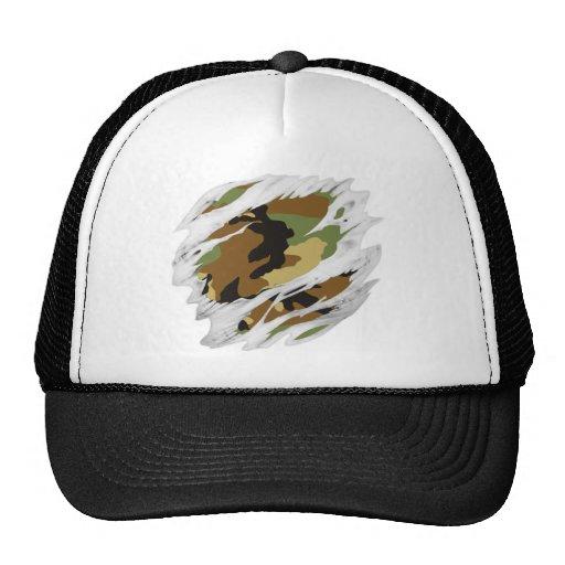 Torn Flesh Camo Mesh Hats