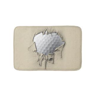 Torn Golf Ball Bath Mat