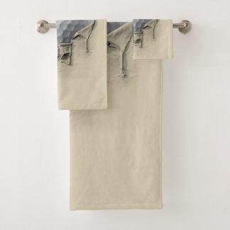 Torn Golf Ball Bath Towel Set