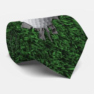 Torn Golf Ball Tie