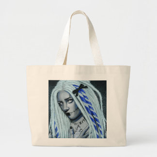 Torn Gothic Ragdoll Art Tote Bag