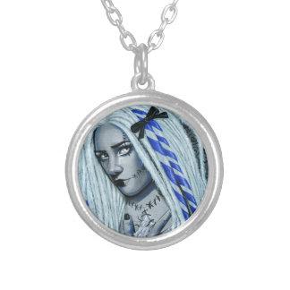 Torn Gothic Ragdoll Fantasy Art Necklace