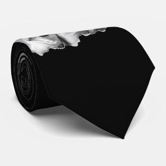 Torn Out Two Family Photos Custom Tie