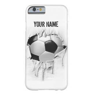 Torn Soccer Pesonalized White Case