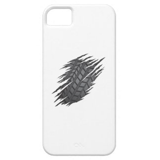 Torn Tyre iPhone 5 Cases