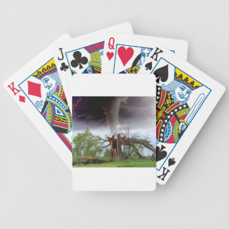Tornado Bicycle Playing Cards