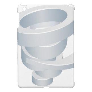 Tornado Cyclone Hurricane Twister 3d Icon iPad Mini Covers