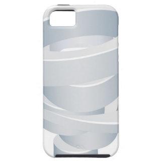 Tornado Cyclone Hurricane Twister 3d Icon iPhone 5 Case