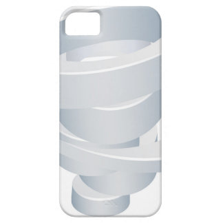 Tornado Cyclone Hurricane Twister 3d Icon iPhone 5 Covers