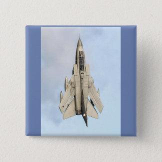 Tornado Fighter jet 2 Inch Square Button