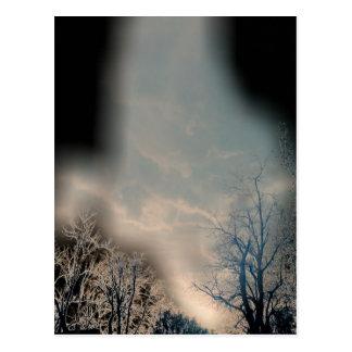 Tornado in Denver Postcard