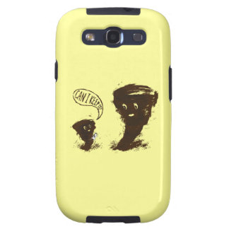 Tornado Kid witth Cow Galaxy S3 Covers
