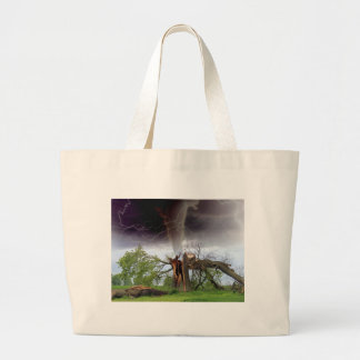 Tornado Large Tote Bag