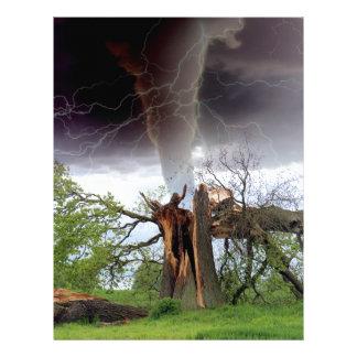 Tornado Letterhead
