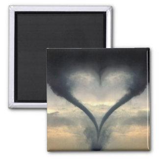 tornado-love magnet